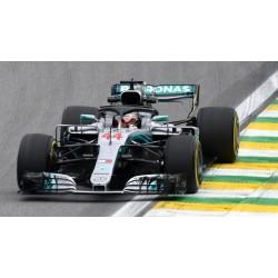 Mercedes F1 W09 EQ Power+ F1 Winner Brésil 2018 Lewis Hamilton Minichamps 417182044