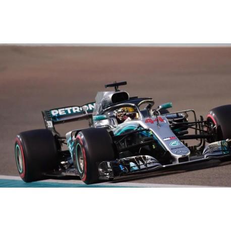 Mercedes F1 W09 EQ Power+ F1 Winner Abu Dhabi 2018 Lewis Hamilton Minichamps 417182144