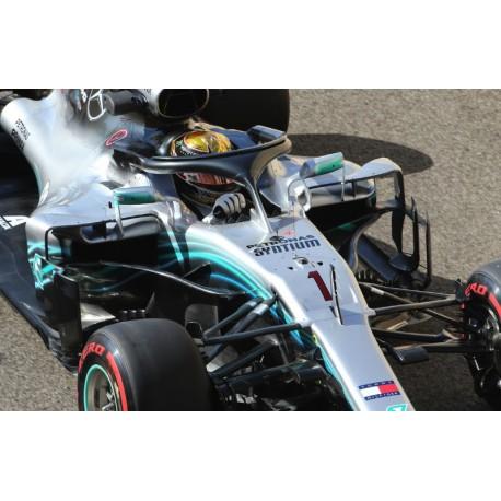 Mercedes F1 W09 EQ Power+ F1 Practice Abu Dhabi 2018 Lewis Hamilton Minichamps 417182244