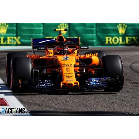 McLaren Renault MCL33 Last F1 Race Abu Dhabi 2018 Stoffel Vandoorne Minichamps 537183902