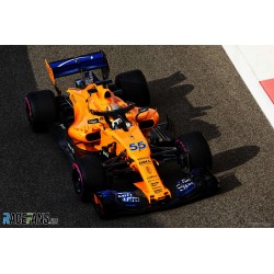 McLaren Renault MCL33 F1 Essais Abu Dhabi 2018 Carlos Sainz Jr. Minichamps 537183955