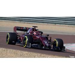 Alfa Romeo Sauber Ferrari C38 F1 Valentines Day Test 2019 Kimi Raikkonen Minichamps 417199007