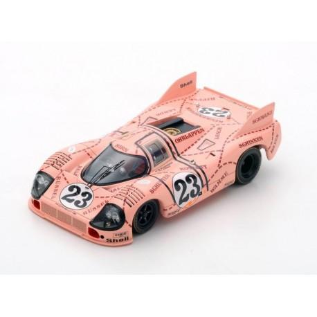 Porsche 917/20 Cochon Rose 23 24 Heures du Mans 1971 Spark S1896