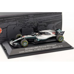 Mercedes F1 W09 EQ Power+ F1 2018 Lewis Hamilton Minichamps B66960559