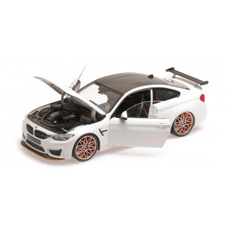 BMW M4 GTS 2016 White Minichamps 110025221