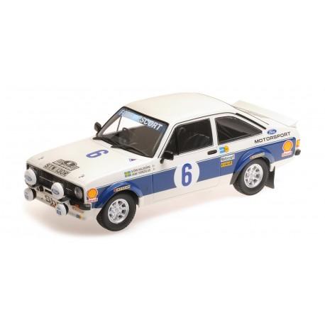 Ford RS 1800 6 Winner Rallye de l'Acropole 1977 Waldegard Thorszelius Minichamps 155778706