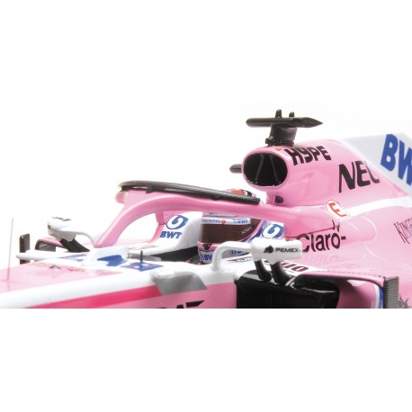 Force India Mercedes VJM11 F1 2018 Sergio Perez Minichamps 110180011