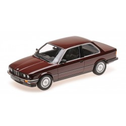 BMW 323I E30 1982 Red Metallic Minichamps 155026007