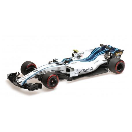 Williams Mercedes FW40 18 F1 Abu Dhabi 2017 Lance Stroll Minichamps 117172018