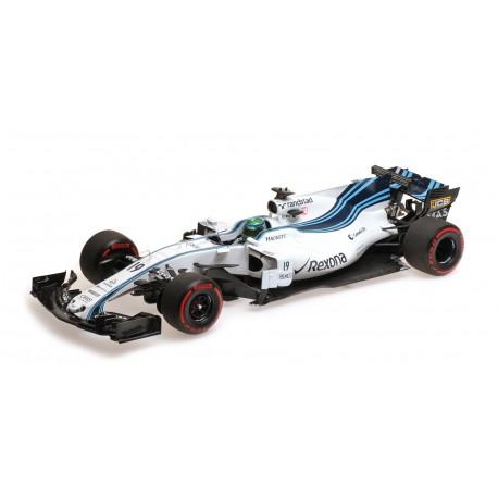Williams Mercedes FW40 19 F1 Abu Dhabi 2017 Felipe Massa Minichamps 117172019