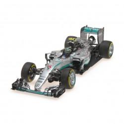 Mercedes F1 W07 Hybrid 6 F1 Abu Dhabi 2016 Nico Rosberg Minichamps 417160706