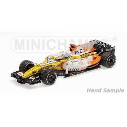 Renault R28 F1 Singapore 2008 Fernando Alonso Minichamps 435080005