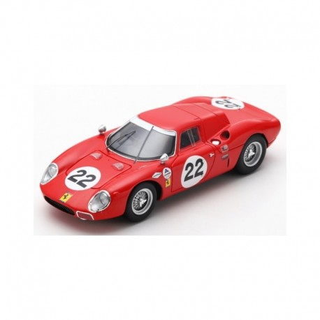 Ferrari 250 LM 22 24 Heures de Daytona 1966 Rindt Bondurant Looksmart LSRC059