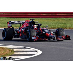 Aston Martin Red Bull Tag Heuer RB15 F1 Test Car Silverstone 2019 Max Verstappen Spark S6084