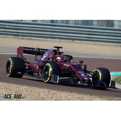 Alfa Romeo Sauber Ferrari C38 F1 Test Car Fiorano 2019 Kimi Raikkonen Spark S6083
