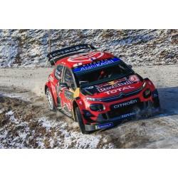 Citroen C3 WRC 1 Winner Rallye Monte Carlo 2019 Ogier Ingrassia Spark S5974