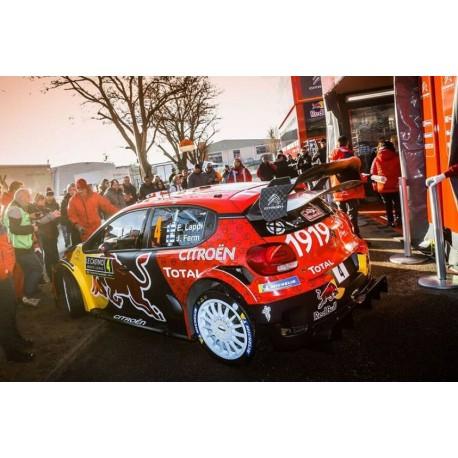 Citroen C3 WRC 4 3ème Rallye Monte Carlo 2019 Lappi Ferm Spark S5975