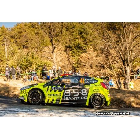 Ford Fiesta R5 44 Rallye Monte Carlo 2019 Riccio Cicognini Spark S5984
