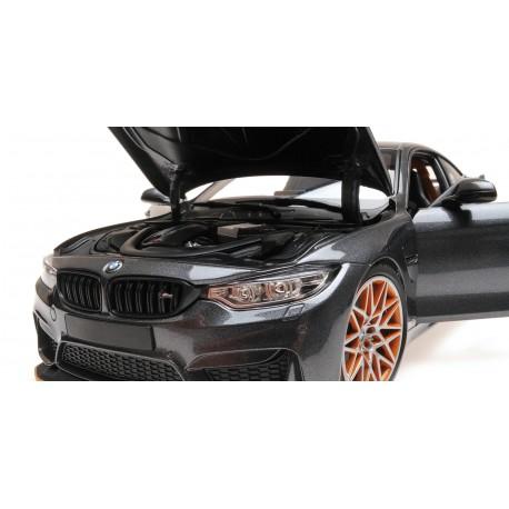 BMW M4 GTS 2016 Grey Metallic Minichamps 110025222
