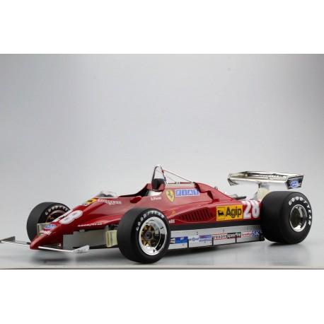 Ferrari 126 C2 28 F1 1980 Didier Pironi GP Replicas GP1210B