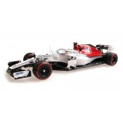 Alfa Romeo Sauber Ferrari C37 9 F1 Monaco 2018 Marcus Ericsson Minichamps 417180609