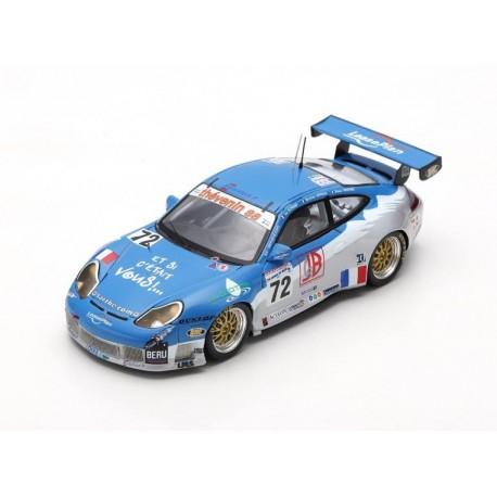 Porsche 996 GT3 RS 72 24 Heures du Mans 2002 Spark S5516
