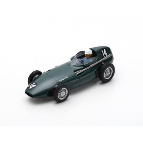 Vanwall VW 2 14 F1 Monaco 1956 Maurice Trintignant Spark S7200