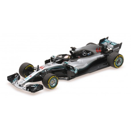 Mercedes F1 W09 EQ Power+ F1 2018 Lewis Hamilton Minichamps 410180044