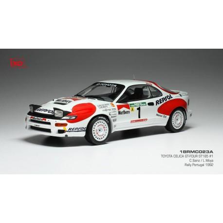 Toyota Celila GT-Four ST185 1 Rallye du Portugal 1992 Sainz Moya IXO 18RMC023A