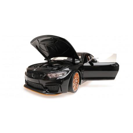 BMW M4 GTS 2016 Black Metallic Minichamps 110025220