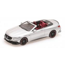 Brabus 850 Mercedes AMG S63 cabriolet 2016 Silver Minichamps 437034232