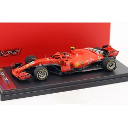 Ferrari SF71H 7 Winner USA GP 2018 Kimi Raikkonen Looksmart LSF1018