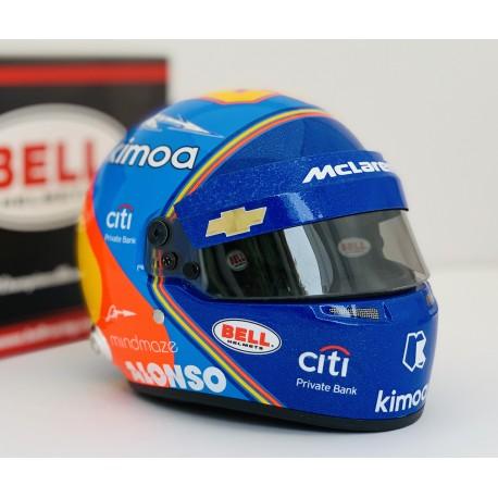 Casque 1/2 Fernando Alonso Indy 500 2019 Bell 4104364