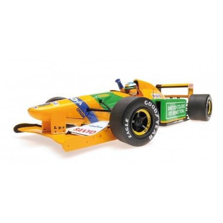 Benetton Ford B192 F1 Spa Francorchamps 1992 Michael Schumacher Minichamps 110920019