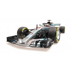 Mercedes F1 W09 EQ Power+ F1 2018 Lewis Hamilton Minichamps 110180044