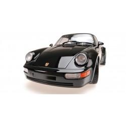 Porsche 911 Turbo 964 1990 Black Minichamps 155069104