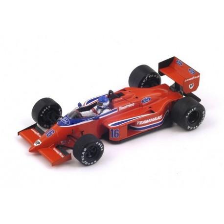 Beatrice Lola THL2 F1 Belgique 1986 Patrick Tambay Spark S1789