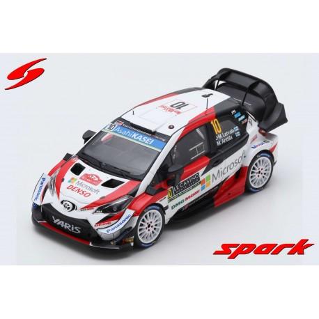 Toyota Yaris WRC 10 Rallye Monte Carlo 2019 Latvala Anttila Spark S5977