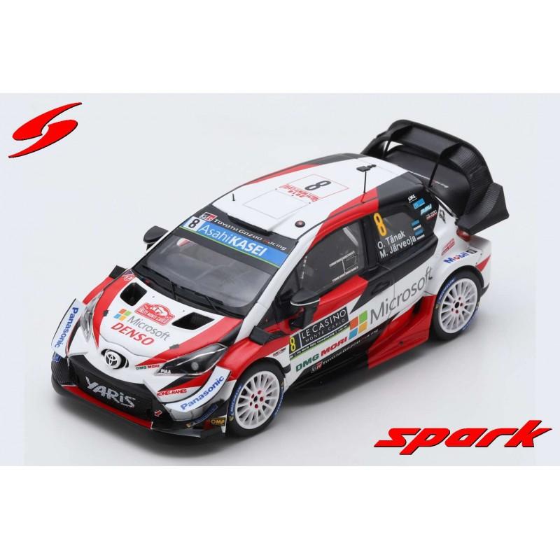 Toyota Yaris WRC 8 Rallye Monte Carlo 2019 Tanak Jarveoja ...