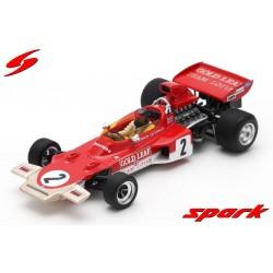 Lotus 72D 2 F1 2ème Autriche 1971 Emerson Fittipaldi Spark S7125