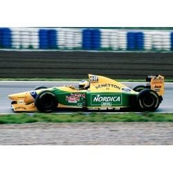 Benetton Ford B193B F1 Testing Barcelona 15th December 1993 Michele Alboreto Minichamps 417930099