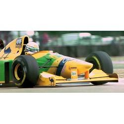 Benetton Ford B193B F1 3ème Angleterre 1993 Ricardo Patrese Minichamps 417930006