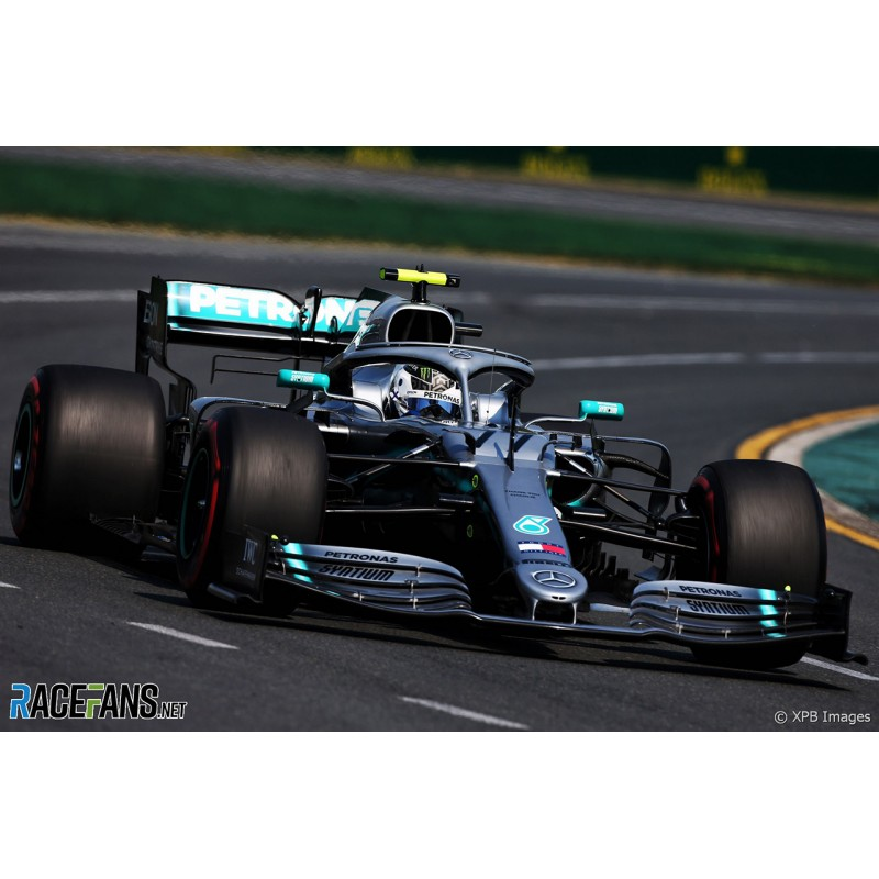 Mercedes F1 W10 EQ Power+ F1 2019 Valtteri Bottas Spark