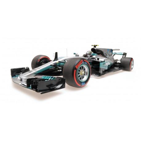 Mercedes AMG Petronas W08 77 F1 Mexique 2017 Valtteri Bottas Minichamps 110171877