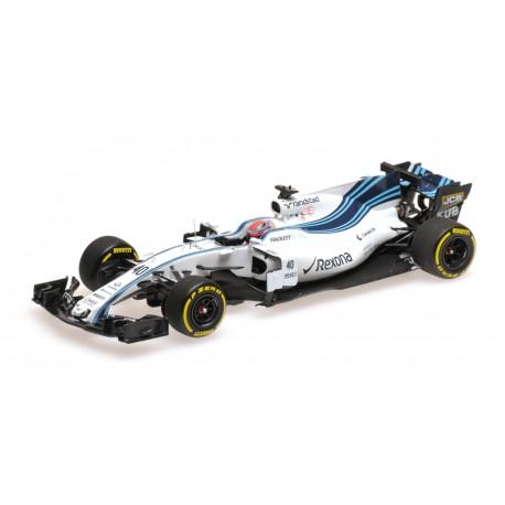 Williams Mercedes FW40 40 F1 Abu Dhabi Testing 2017 Robert Kubica Minichamps 417172040