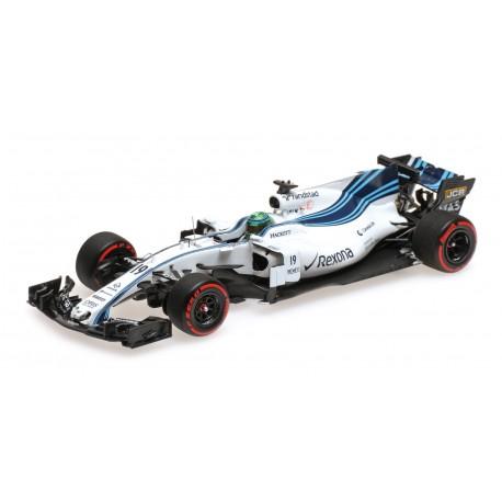 Williams Mercedes FW40 19 F1 Abu Dhabi 2017 Felipe Massa Minichamps 417172019