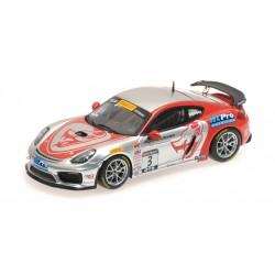 Porsche Cayman GT4 Clubsport MR 3 Pirelli World Challenge GTS 2017 Rodrigo Baptista Minichamps 437171603