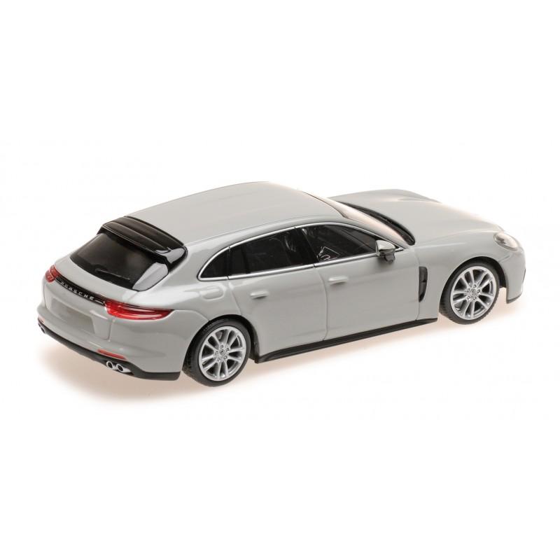 #410066114 Minichamps Porsche Panamera 4E-Hybrid Sport Turismo Kreide 2017 1:43