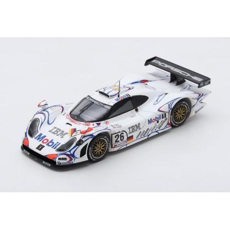 Porsche 911 GT1 26 Winner 24 Heures du Mans 1998 Spark S43LM98