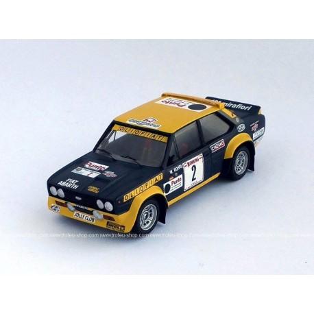 Fiat 131 Abarth 2 Rally San Martino di Castrozza 1977 Roehrl Geistdoerfer NEO TRORRIT01